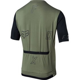 Fox Ascent Short Sleeve Jersey Men dark fatigue
